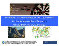 Ensemble data assimilation at the U.S. National Center for Atmospheric Research: Moving from theory to practice