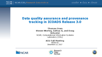 Data quality assurance and provenance tracking in ICOADS Release 3.0