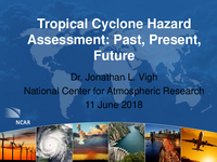 Tropical cyclone hazard assessment: Past, present, future