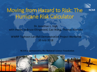 Moving from hazard to risk: The Hurricane Risk Calculator