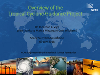 Overview of the Tropical Cyclone Guidance Project