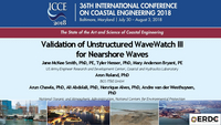 Validation of unstructured Wavewatch III for nearshore waves