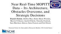 Near real-time MOPITT data: Its architecture, obstacles overcome, and strategic decisions