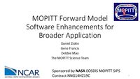 MOPITT forward model software enhancements for broader application