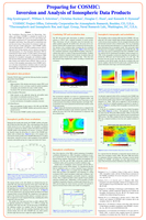 Preparing for COSMIC: Inversion and analysis of ionospheric data products [poster]