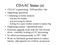 CDAAC status and plans for a COSMIC follow-on [presentation]