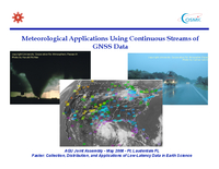 Meteorological applications using continuous streams of GNSS data [presentation]