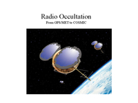 Radio Occultation: From GPS/MET to COSMIC [presentation]