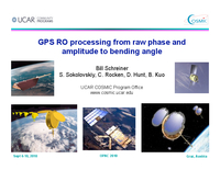GPS RO processing from raw phase and amplitude to bending angle [presentation]