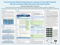 Discovering new global climate patterns: Curating a 21-year high temporal (hourly) and spatial (40km) resolution reanalysis dataset