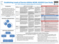 Establishing levels of service within NCAR: ACADIS case study