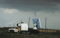 Doppler Rapid Scan Radar on Wheels with Tornado (DI01124)