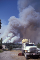 Doppler Radar on Wheels from the Robert Fire (DI01159), Photo by Herb Stein