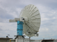 S-Pol radar at RICO (DI01278), Photo by Gordon Farguharson