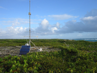 Portable Automated Mesonet (PAM) at RICO (DI01288), Photo by Gordon Farguharson