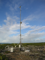 Portable Automated Mesonet (PAM) at RICO (DI01289), Photo by Gordon Farguharson