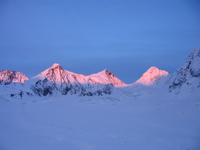 Alpenglow in Alaska (DI01434) Photo by Nicole Gordon
