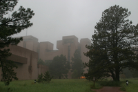 Mesa Lab in the fog (DI01457)