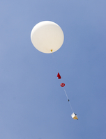 Balloon launch during the MIRAGE field project (DI01462)
