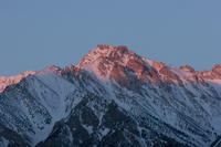 Alpenglow near Independence, CA (DI01528)