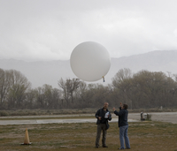 Balloon launch at T-REX (DI01538)
