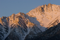 Alpenglow near Independence, CA (DI01542)