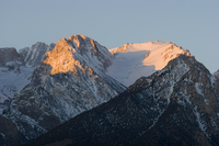 Alpenglow near Independence, CA (DI01543)
