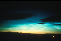 Noctilucent cloud (DI00146), Photo by Ben Fogle