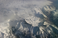 Aerial photo of Sierra Nevada Mountains (DI01586)
