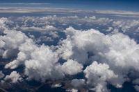 Aerial photo of clouds (DI01588)