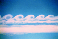 Kelvin-Helmholtz clouds (DI00150), Photo by Terry Robinson