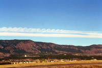 Kelvin-Helmholtz clouds (DI00151), Photo by Terry Robinson