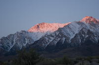 Alpenglow near Independence, CA (DI01607)