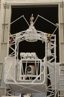 SUNRISE telescope in hanger (DI01638)