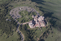 Aerial view of the NCAR Mesa Laboratory (DI01730)