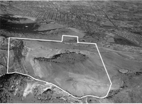 Aerial view of the NCAR Mesa Laboratory building site (DI01745)