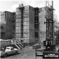 Construction site of the NCAR Mesa Laboratory (DI01746)