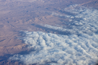 Marine stratocumulus clouds over the Atacama Desert, Chile (DI01828)