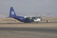 C-130 research plane in Arica, Chile (DI01833)