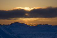 Sunset near Barrow, Alaska (DI01948)