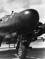 Black Widow night fighter, the Thunderstorm Project, 1947 (DI01981)