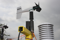 Roof-mounted anemometer (DI01996)