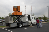 Truck-mounted weather research equipment (DI01999)