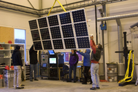 One of Sunrise's solar panels (DI02012)