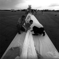 Preparations for balloon launch, 1965 (DI02056)