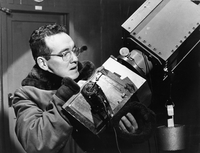 Walter Orr Roberts and the Climax coronascope, circa 1945 (DI02072)