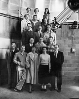 High Altitude Observatory team, 1940s and 1950s (DI02073)