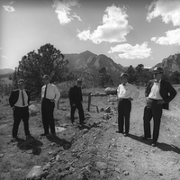 UCAR Trustees visit Mesa Lab site, 1964 (DI02088)