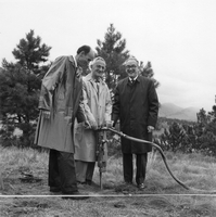 Fleischmann Building groundbreaking, 1968 (DI02089)