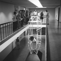 Visitors' tour at the Mesa Lab, 1970  (DI02096)